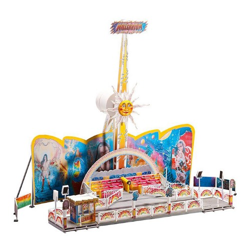 F140429 Rainbow Millenium Amusement park ride