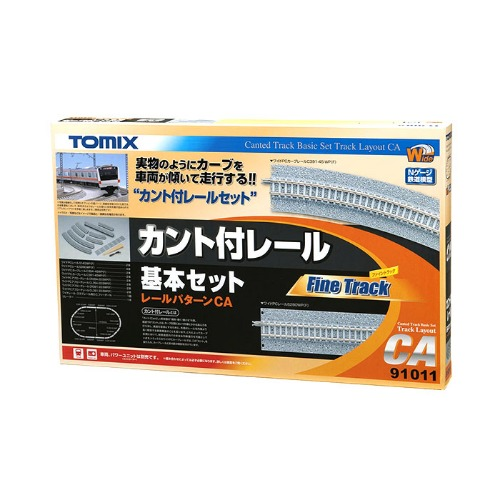 TM91011 Canted Track Basic Set (Track Layout CA)