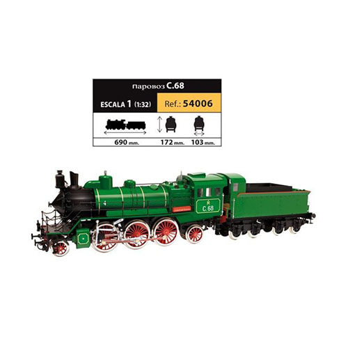 OCCRE 54006 1/32 C.68 steam locomotive