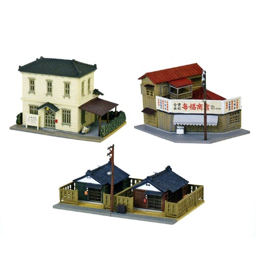 TM301103 Building Collection 165 Town Set A