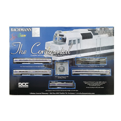 BH01312U The Continental HO AMTRAK 4Car Starter Set [중고]