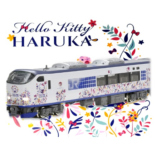 TM98674 Series 281 Hello Kitty Haruka / Butterfly Set 6Car