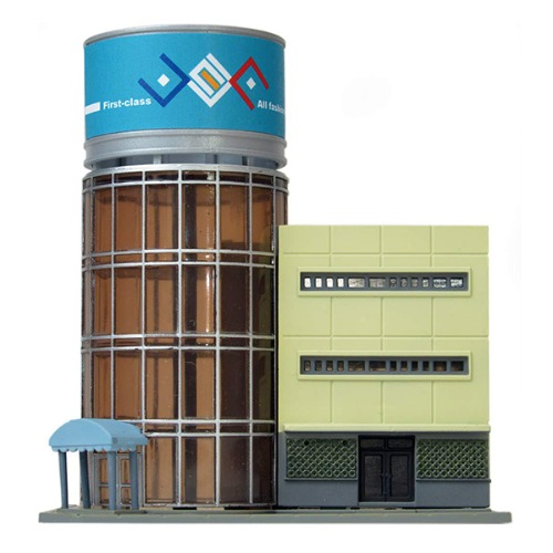 TM29374  Building Collection 039-3 Contemporary Office Tower (Cylindrical Building) 3