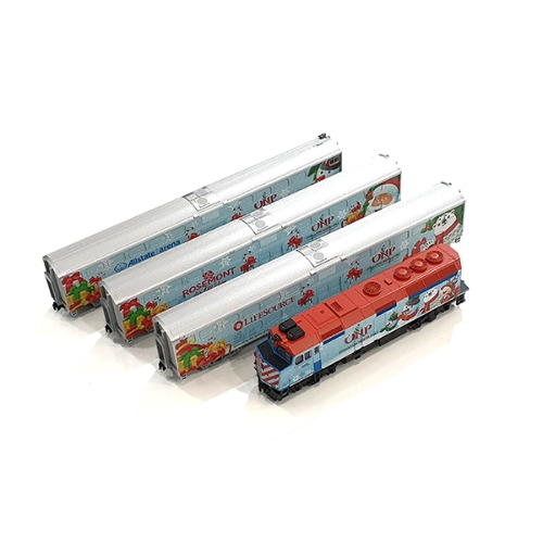 KATO 106-2016U 2016 Operation North Pole Christmas Train 4Car Set [중고]