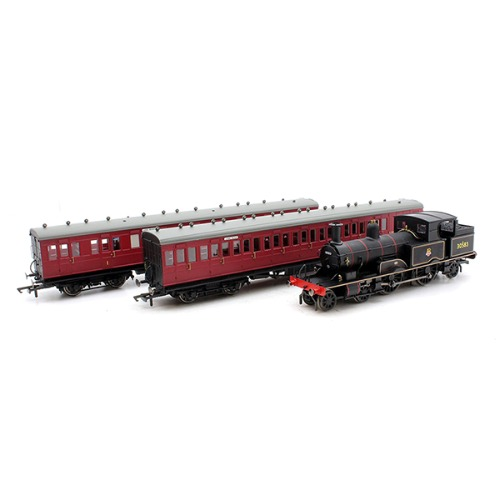 HORNBY R3398 OO1/76 SR,Lyme Regis Branch Train Pack E4