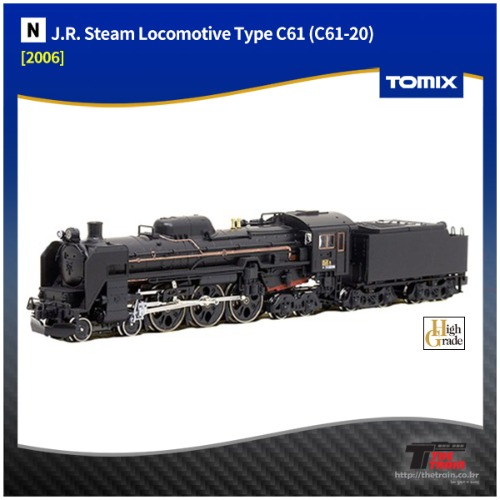 TM2006 J.R. Steam Locomotive Type C61 (C61-20)