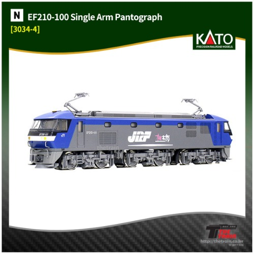 KATO 3034-4 EF210-100 Single Arm Pantograph