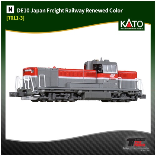 KATO 7011-3 DE10 Japan Freight Railway Renewed Color
