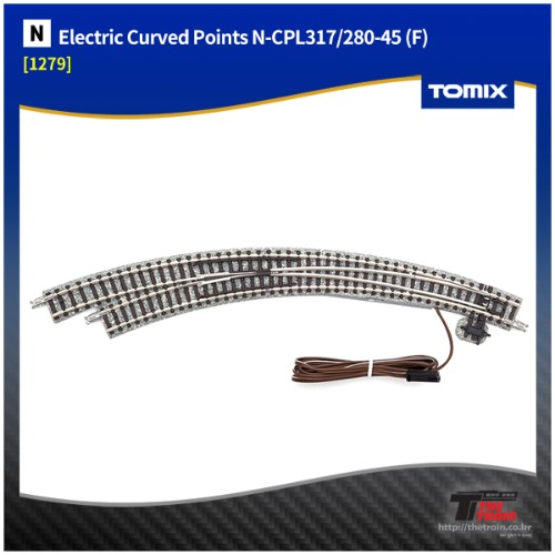 TM1279 Electric Curved Points N-CPL317/280-45 (F)
