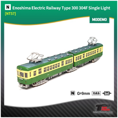 MODEMO NT57 Enoshima Electric Railway Type 300 304F Single Light (M)