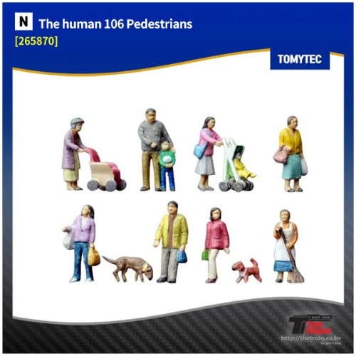 TM265870 human 106 Pedestrians (People in Residential Area)