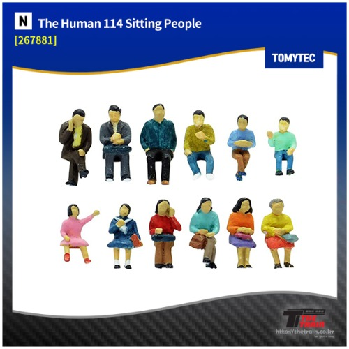 TM267881 The Human 114 Sitting People