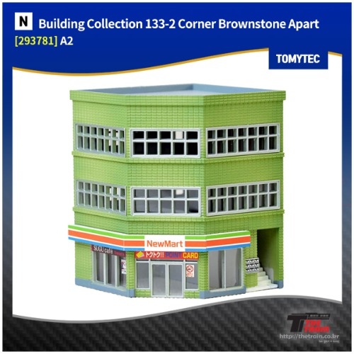 TM293781 Building Collection 133-2 Corner Modern Office A2