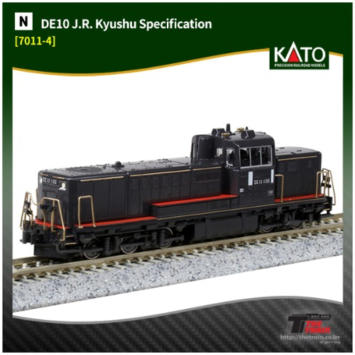 kato 7011-4 DE10 J.R. Kyushu Specification