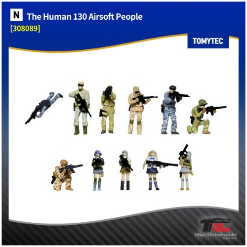 TM308089 Human 130 Airsoft People