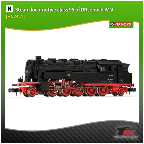 HN2421 German Steam locomotive class 95 epoch IV-V