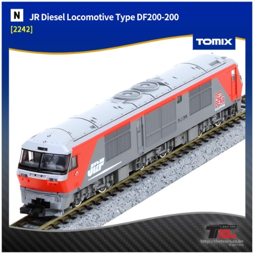 TM2242 JR Diesel Locomotive Type DF200-200