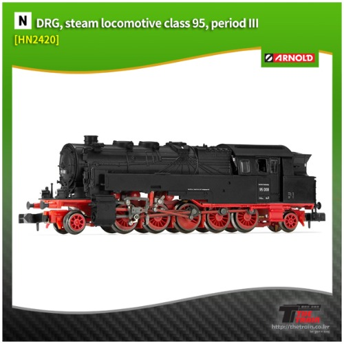 HN2420 German Steam locomotive class 95 epoch III
