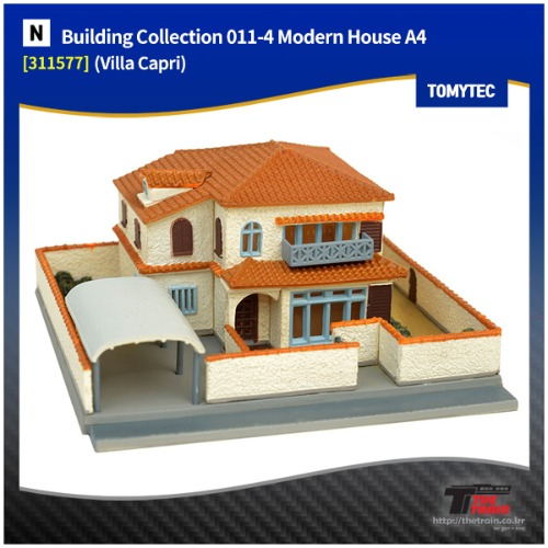 TM311577 Building Collection 011-4 Modern House A4 (Villa Capri)