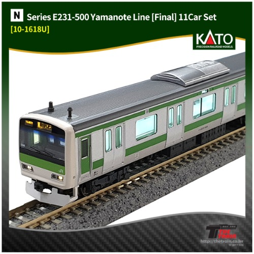 KATO 10-1618U Series E231-500 Yamanote Line [Final] 11Car Set [중고]
