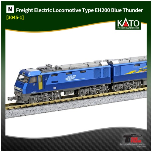 KATO 3045-1 Freight Electric Locomotive Type EH200 Blue Thunder
