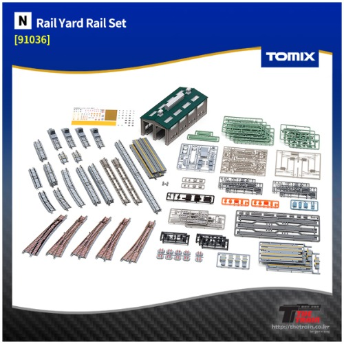 TM91036 Rail Yard Rail Set