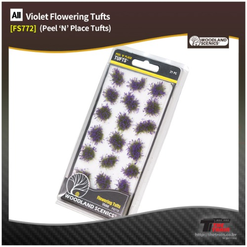FS772 Violet Flowering Tufts