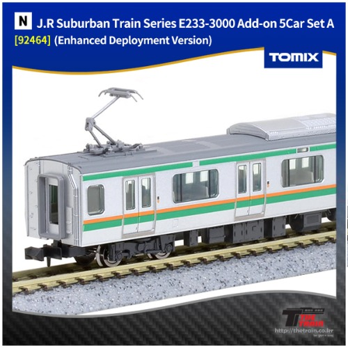 TM92464 J.R Suburban Train Series E233-3000 Add-on 5Car Set A